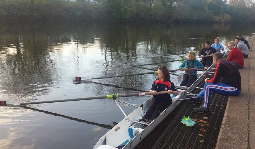 Learning to row on the Go Row course