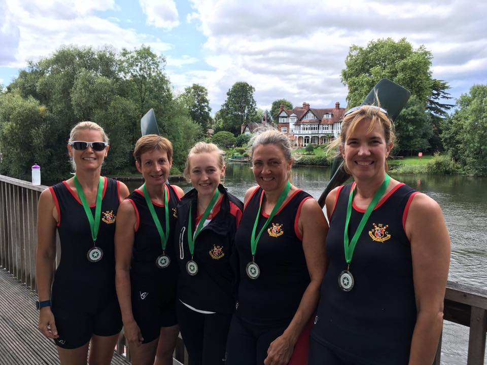 Masters women winners