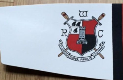 Worcester Rowing Club blade